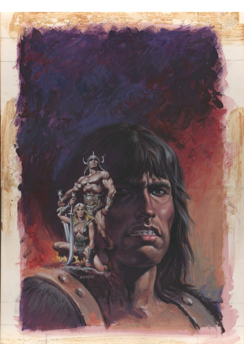Conan_The Barbarian_Movie_Book