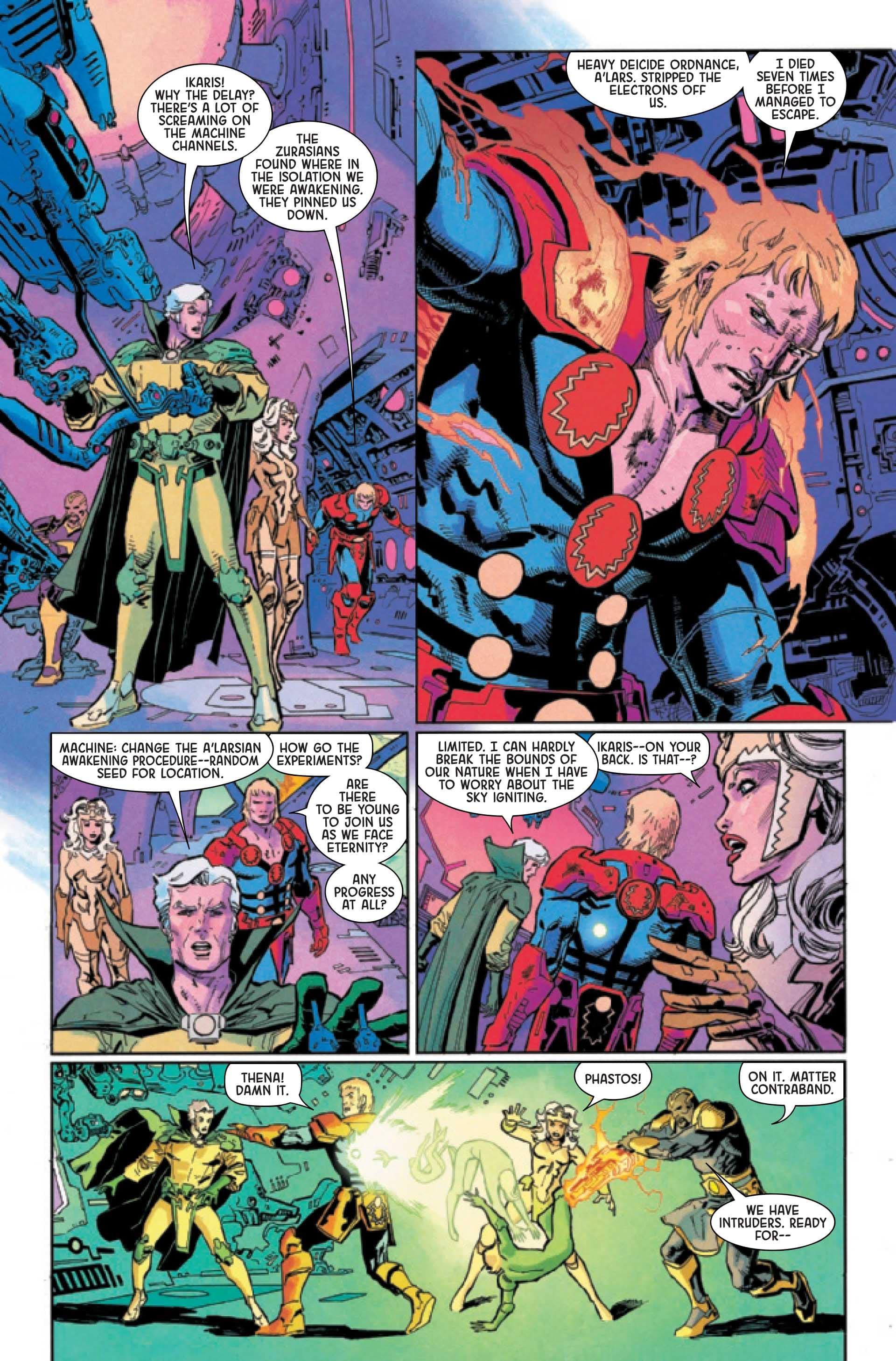 Eternals Thanos Rises #1c