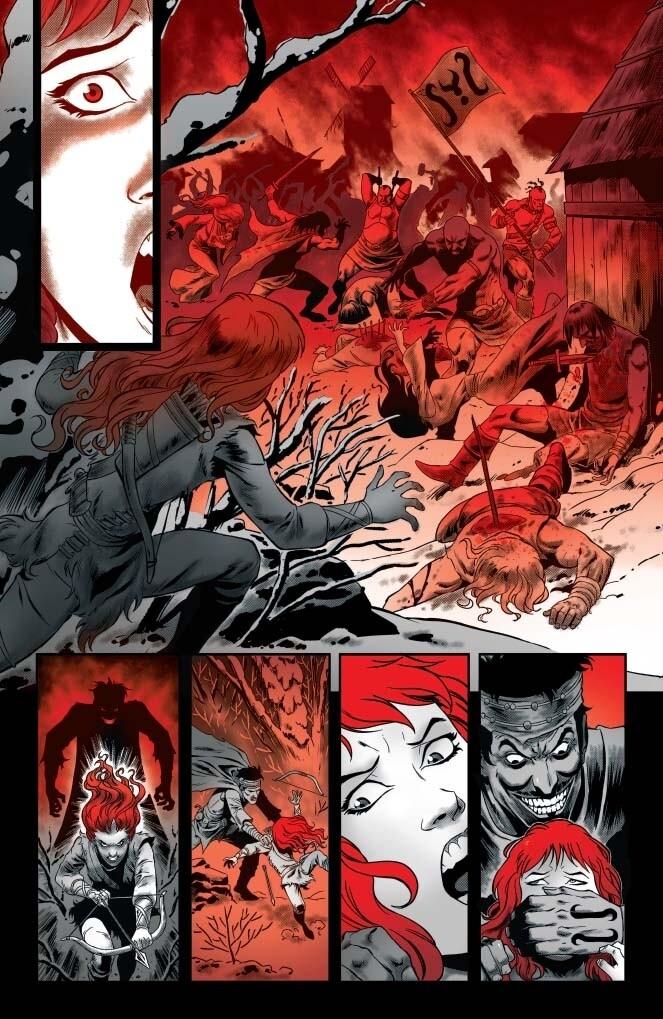 Red Sonja Black, White, Red #32